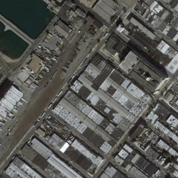 Comparison of different methods on the Google Maps/Aerial